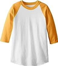 Soffe MJ Kid's 3/4 Sleeve Baseball Jersey