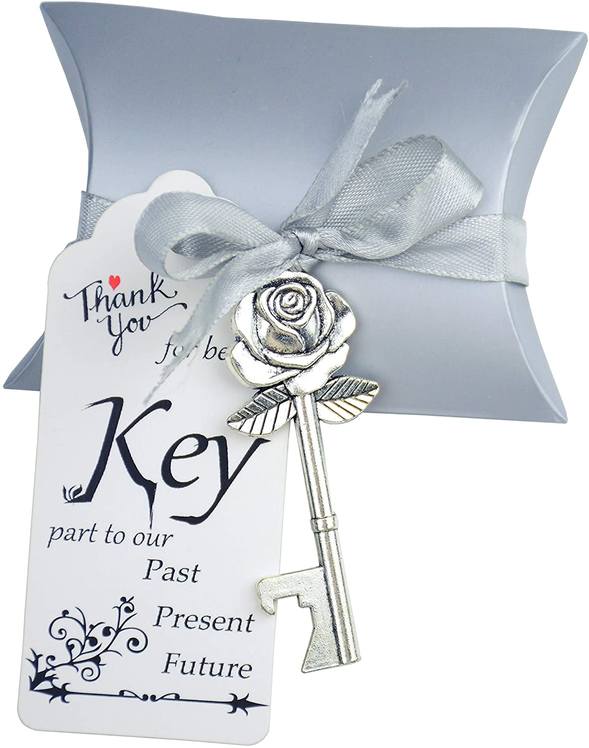50 quality assurance Set Skeleton Rose Key Bottle All items free shipping Openers Box Candy with In Antiqu