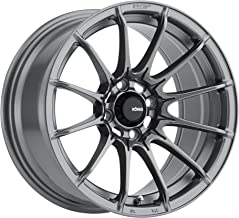 Konig DIAL IN Matte Grey Wheel with Painted Finish (15 x 8. inches /4 x 100 mm, 25 mm Offset)
