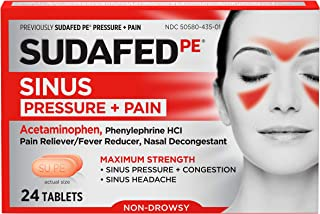 Best sudafed sinus and pain 12 hour Reviews