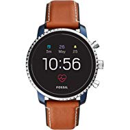 Men's Gen 4 Explorist HR Stainless Steel Touchscreen Smartwatch with Heart Rate, GPS, NFC, and...