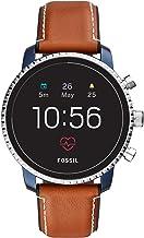 Fossil Smartwatch para Hombre con Correa en Cuero FTW4016