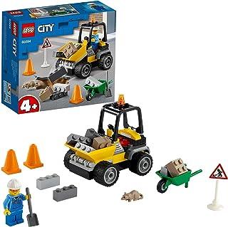 LEGO City 60284 Pojazd do robót drogowych; fajny zestaw budowlany dla dzieci (58 elementów)