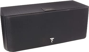 Focal Chorus CC600 2-Way Bass Reflex Center Channel Speaker (Black)