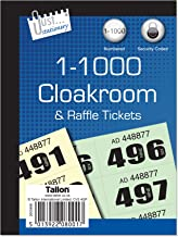 Stationery cloakroom and raffle tickets 1-1000