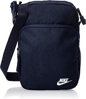 Nike Unisex' Heritage 2.0 Crossbody Bag, Obsidian/Obsidian/(White)