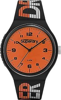 Superdry Urban XL Racing Analog Orange Dial Men's Watch-SYG269BO