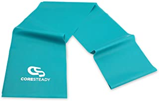 Coresteady Resistance Bands   Premium Quality Fitness Bands for Pilates, Yoga, Strength Training   Physiotherapy & Rehabilitation   for Men & Women   Exercise Guide Included