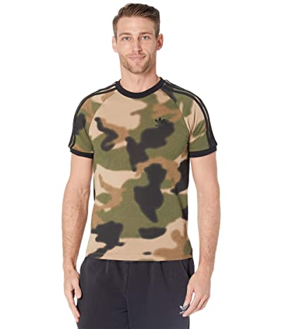 adidas Originals Camo All Over Print Cali Tee Men