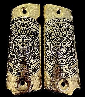 Blanca's Jewelry 1911 Government Commander Gun Grips Aztec Calendar Cachas