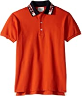 Gucci Kids - Stretch Cotton Pique Polo (Little Kids/Big Kids)