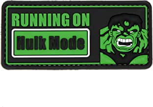 NEO Tactical Gear Hulk Mode On - PVC Morale Patch, Hook Backed Morale Patch - Avengers Patch