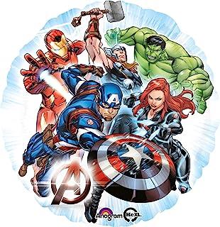 "Anagram Amscan International 3465501 Avengers Foil Balloon, Multi Colour, 10022847, Movie Foil Balloon, 17"""