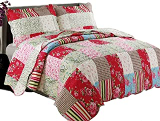 Coast to Coast Living 3-Pc Quilt Sets Luxurious Soft (Berkshires, Queen)