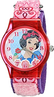 Disney Kids' W001966 Snow White Analog Display Analog Quartz Pink Watch