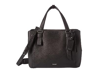 Tumi Varek Pearl Tote (Black) Handbags