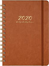 2020 Planner - Weekly, Monthly and Yearly Planner with Monthly Tabs, 6.3