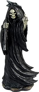 DWK Grim Grouch Reaper Flipping Bird Hand Painted Figurine