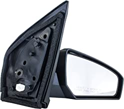 Passenger Side Mirror for Nissan Sentra (2007 2008 2009 2010 2011 2012) Power Operation Unpainted Non-Heated Non-Folding Right Outside Rear View Replacement Door Mirror - NI1321167