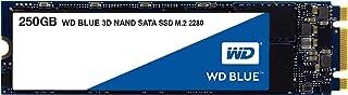 WD 内蔵SSD M.2-2280 / 250GB / WD Blue 3D / SATA3.0 / 5年保証 / WDS250G2B0B