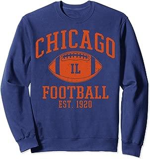 Chicago Football   Vintage Illinois Bear Gift Sweatshirt