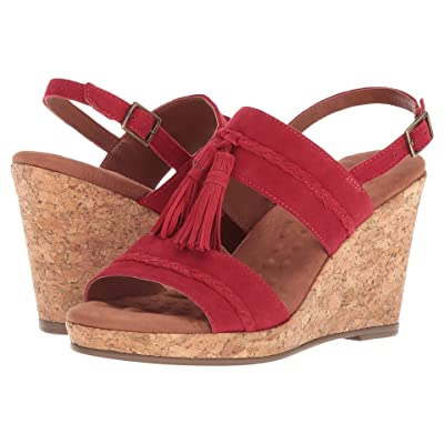 Walking Cradles Kalinda (Red Suede) Women