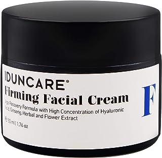 Iduncare Crema Facial Reafirmante - Crema de Cara Antiedad con Vitamina C & Ácido Hialurónico - Mejor Crema Hidratante par...