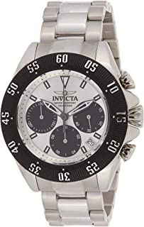 Invicta Men'S Speedway Quartz Chronograph Silver Dial Stainless Steel Band Watch - 22392