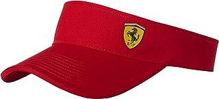 Ferrari Red One Size Classic Visor