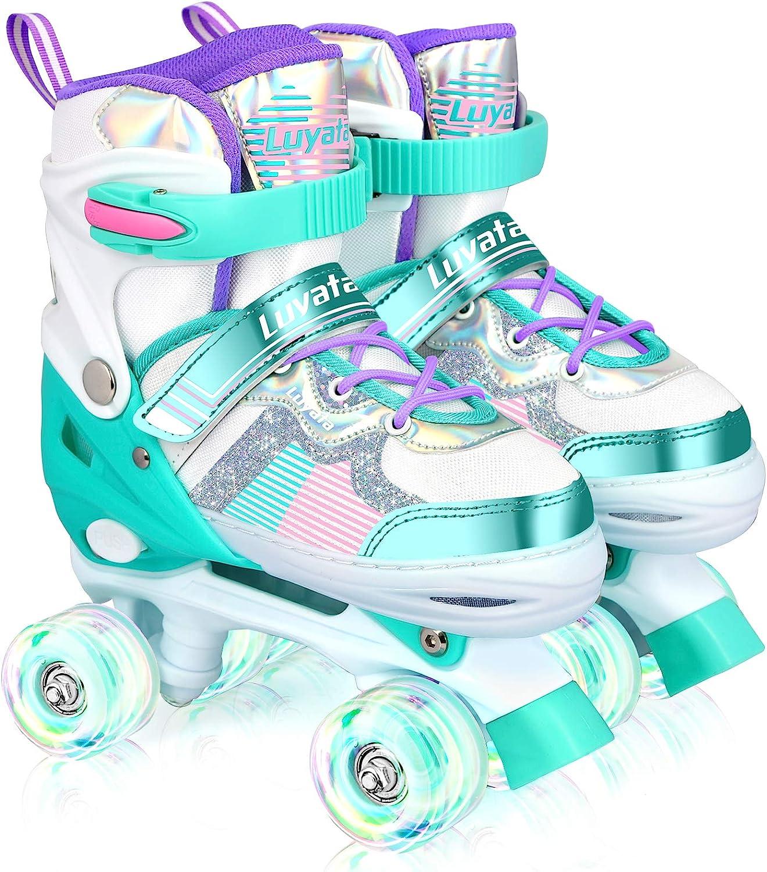 Roller Skates Portland Mall for Kids Boys Adjustable Sizes Ska Girls 4 Sales