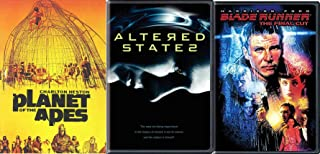 Prophetic Sociological Experimental Human Consciousness Altered States / Blade Runner + Planet of the Apes Sci-Fi Classic Film Collection Triple Feature Mind Bending DVD Pack