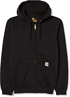 Men's Midweight Hooded Zip Front Sweatshirt