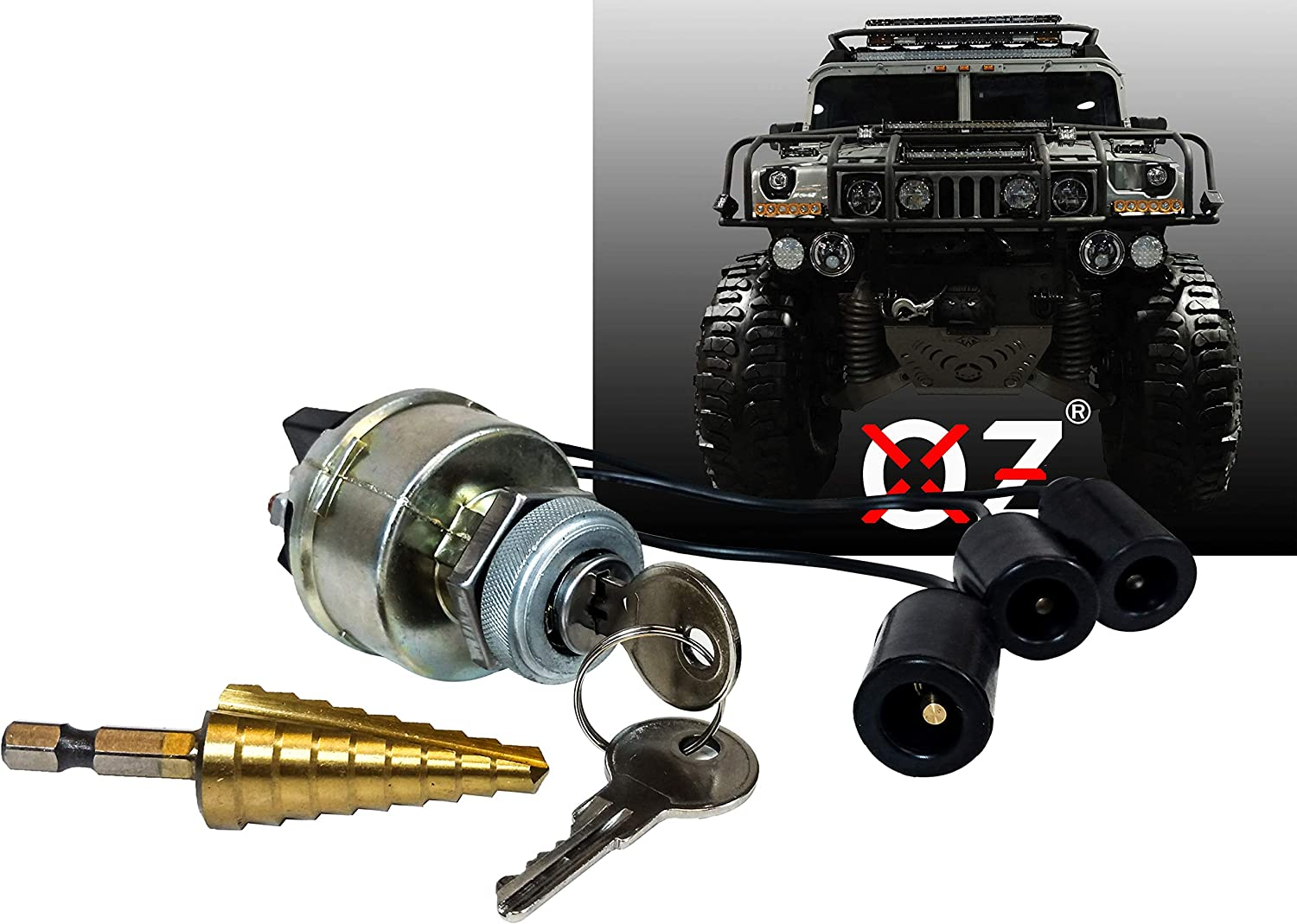 Ignition Starter Keyed Switch Military Overseas parallel import regular item O 4-Position OFF Plug ACC Max 54%