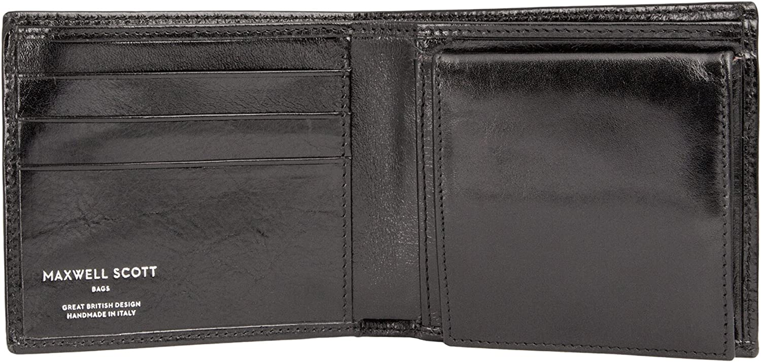 New item Maxwell NEW before selling ☆ Scott Personalized Premium Leather Coin With Pouc Wallet