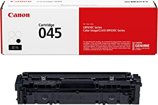 Canon Genuine Toner, Cartridge 045 Black (1242C001), 1 Pack, for Canon Color imageCLASS MF634Cdw, MF632Cdw, LBP612Cdw Laser Printers