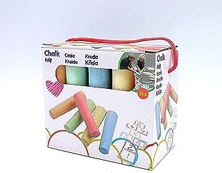 Craies de Trottoir/Craies de Rue Multicolores - 15 Pièces - 10, 5 x 2, cm