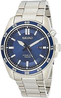 Seiko Reloj Analógico para Hombre de Kinetico con Correa en Acero Inoxidable SKA783P1