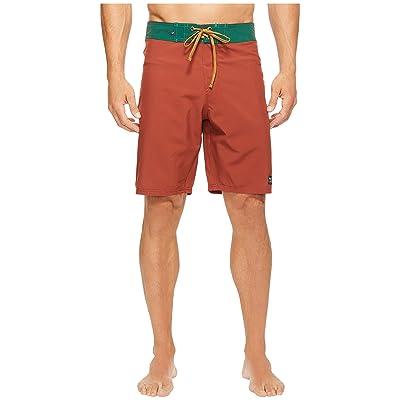 United By Blue Classic Trailblaze Boardshorts (Orange) Men