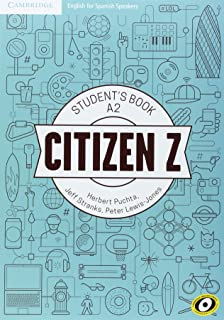 Citizen Z A2 Student's Book with Augmented Reality - 9788490360644