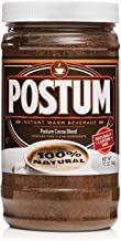 Postum Hot Cocoa Natural Blend (7oz) | Instant, Healthy, Chocolate Flavor Coffee Alternative | Caffeine Free, Sweet, Smoot...