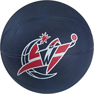 Spalding NBA Mini Primary Team Outdoor Rubber Basketball