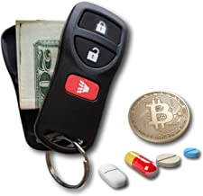 Key Diversion Safe by Stash-it, Hidden Secret Compartment, Stash Box, Discreet Decoy Car Key Fob to Hide and Store Money a...
