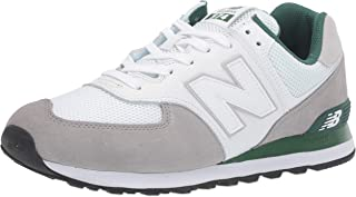 Men's 574v2 Sneaker, Marblehead/Team Forest Green, 5 2E US
