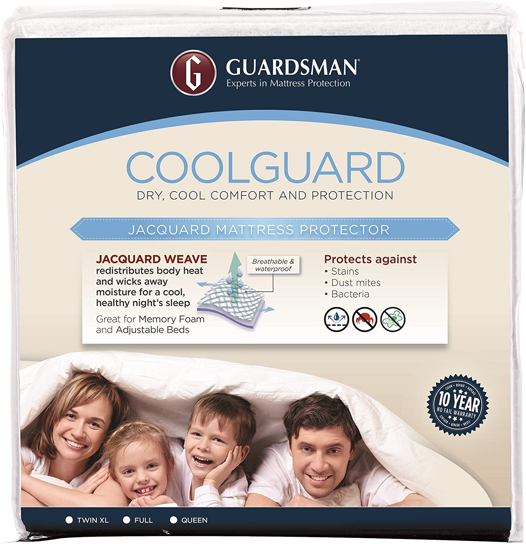 Guardsman Cool Guard Mattress Predector, Queen