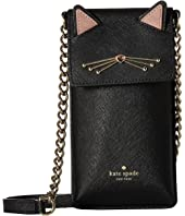 Kate Spade New York - Cat North/South Crossbody Phone Case