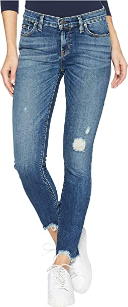 Tally Mid-Rise Crop Skinny Jeans in Side Bar