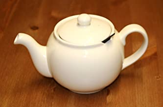 London Teapot Company Chatsford 2 Cup Cream Teapot with Filter 15514