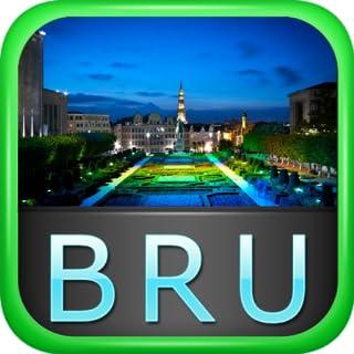 Brussels Offline Map Travel Guide (Kindle Tablet Edition)