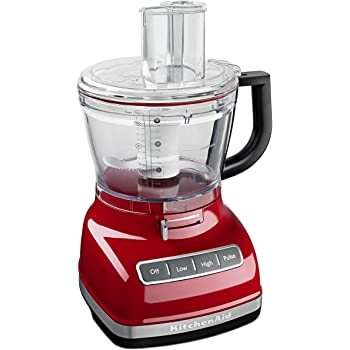 KitchenAid KFP1466ER 14-Cup Food Processor with Exact Slice System and Dicing Kit - Empire Red