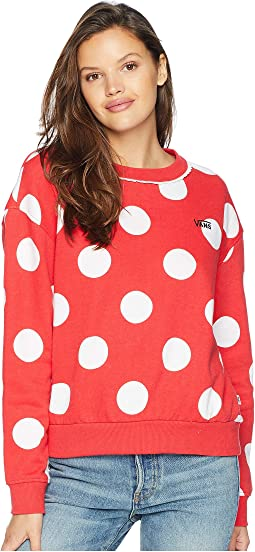 Mickey's 90th Minnie Boxy Crew Fleece